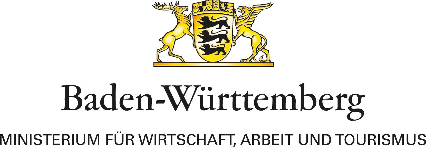 Logo des Ministeriums für Wirtschaft, Arbeit und Tourismus